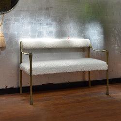 Giac Settee - Bolster Back | Wartebänke | DLV Designs