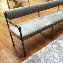 Giac Settee - Flat Back | Waiting area benches | DLV Designs