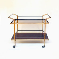 Kent Bar Cart | Carritos de servicio / Carritos de bar | DLV Designs