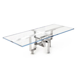 Metropolis Single | Tables de repas | DLV Designs