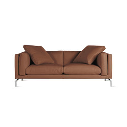 "Como 80"" Sofa in Leather 