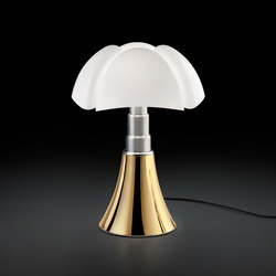 Pipistrello 50 anni golden | Luminaires de table | martinelli luce