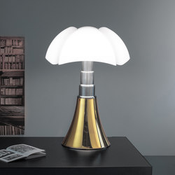 Pipistrello 50 anni gold plated | Luminaires de table | martinelli luce