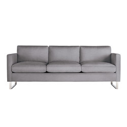 Goodland Sofa in Fabric, Stainless Legs | Divani | Design Within Reach