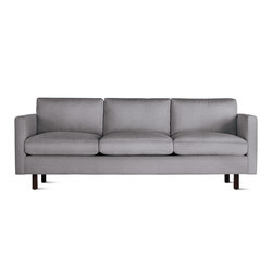 Goodland Sofa in Fabric, Walnut Legs | Canapés | Design Within Reach