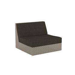 Abondo Lounge ABDL 100 | Garden armchairs | Royal Botania