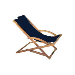 Beacher 65 folding relax chair | Lettini giardino | Royal Botania