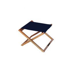 Beacher 65 folding foot rest | Stools | Royal Botania