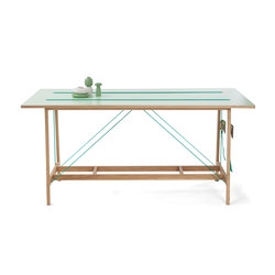Strap Table | Dining tables | Vij5