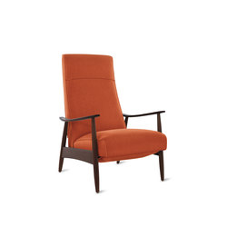 Milo Baughman Recliner 74 in Fabric | Armchairs | Design Within Reach