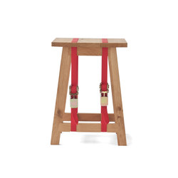 Strap Stool red | Stools | Vij5