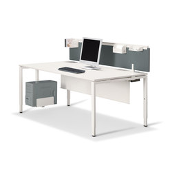 Tibas Workstation | Desks | Haworth