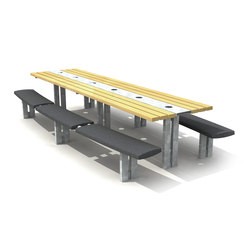 Composites SMC Picnic Set | Benches with tables | Streetlife