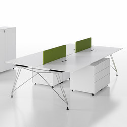 A1 | Systèmes de tables de bureau | BK CONTRACT
