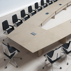 conference table systems high quality designer conference table systems architonic. Black Bedroom Furniture Sets. Home Design Ideas