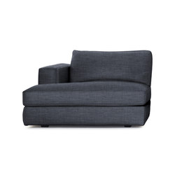 Reid Chaise Left in Fabric | Modular seating elements | Design Within Reach