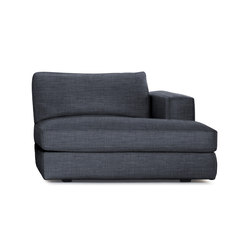 Reid Chaise Right in Fabric | Modular seating elements | Design Within Reach
