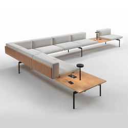 H-Sofa | Waiting area benches | Giulio Marelli