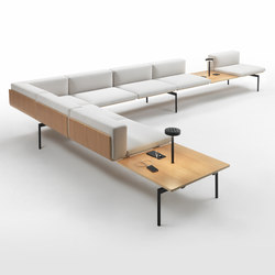 H-Sofa Corner Composition | Waiting area benches | Giulio Marelli