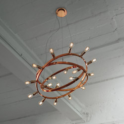 Dione 550 copper | Suspended lights | Licht im Raum