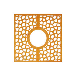 CorTen Tree Grid Magic | Tree grates / Tree grilles | Streetlife