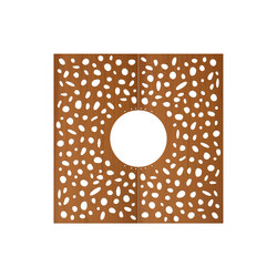CorTen Tree Grid Pebbles | Tree grates / Tree grilles | Streetlife