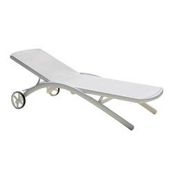 Elite sunlounger wheely | Sdraio da giardino | Fast