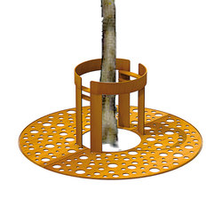 CorTen Tree Guards | Tree guards | Streetlife