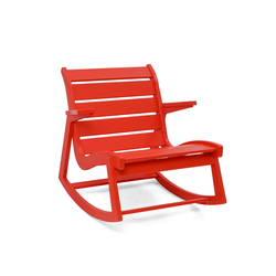 Rapson Rocker Low Back | Garden armchairs | Loll Designs