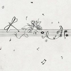 Musik Metrik | Carta da parati | Wall&decò
