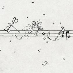 Musik Metrik | Papeles pintados | Wall&decò