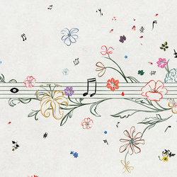 Musik Metrik | Wallcoverings | Wall&decò