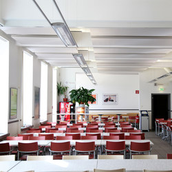 BaseLine│ceiling sail | Acoustic ceiling systems | silentrooms