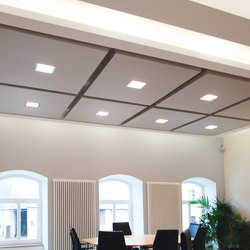 BaseLine│ceiling panel | Paneles de techo | silentrooms