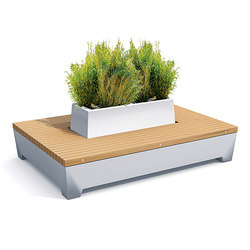 Love Big Green Love Benches | Planters | Streetlife