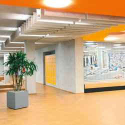 SoftLine | Acoustic ceiling systems | silentrooms