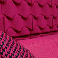 Scrunch | Sound absorbing wall systems | silentrooms