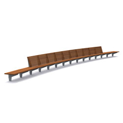 Olympic Wave Benches | Panche da esterno | Streetlife
