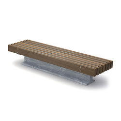 Rough & Ready 7 Nordic Benches | Exterior benches | Streetlife
