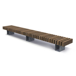Rough & Ready Crosswise Benches | Bancos | Streetlife