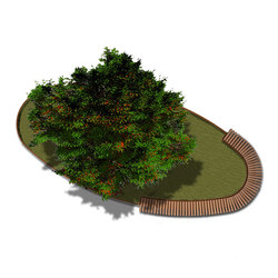 Rough & Ready Oval Tree Isles | Jardineras | Streetlife