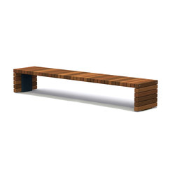 Solid Crosswise Benches | Bancos | Streetlife