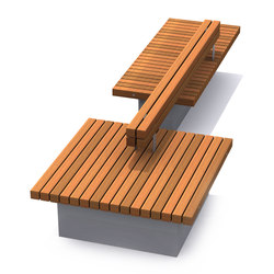 Solid Base Benches | Bancos | Streetlife