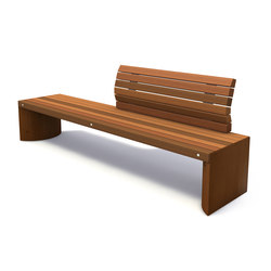 Solid Solitude Benches | Bancos | Streetlife