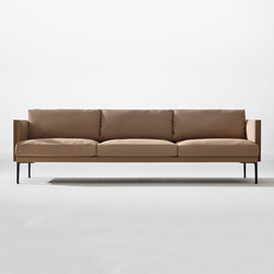 Steeve 3 seater sofa | Sofás lounge | Arper