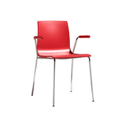 Alice with open armrests | Sillas | Scab Design