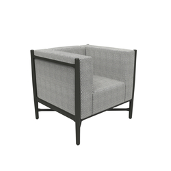 Loka chair | Poltrone lounge | Colé