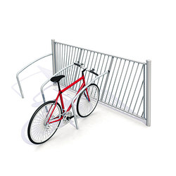 Standard Childproof Fence with Bicycle Parking | Railings | Streetlife