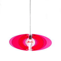 Blossom Pendant 65 Cerise clear 003 | General lighting | Bsweden