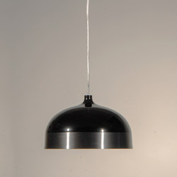 Glaze Pendant Lamp 33 Black & Charcoal | General lighting | Innermost